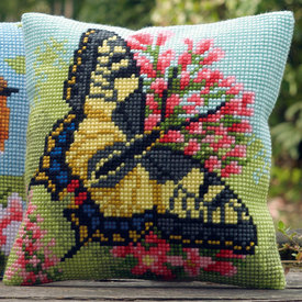 Butterfly - Vervaco Kruissteekkussen |  | Artikelnummer: vvc-163768