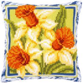 Daffodils - Vervaco Kruissteekkussen |  | Artikelnummer: vvc-1126