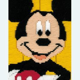 Mickey Mouse - Vervaco borduurpakket in platsteek, voor kinderen  |  | Artikelnummer: vvc-143763