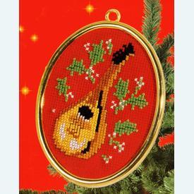 Music - borduurpakket met telpatroon Vervaco  |  | Artikelnummer: vvc-40928