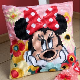 Psst, I Have a Secret - Vervaco Kruissteekkussen - Minnie Mouse - Disney |  | Artikelnummer: vvc-167643