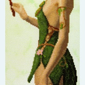 Magical Forest Elf - Borduurpakket met telpatroon Orcraphics |  | Artikelnummer: orc-2017-09-05