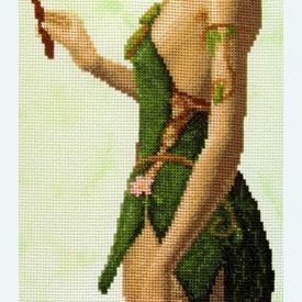 Magical Forest Elf - Borduurpakket met telpatroon Orcraphics      Artikelnummer: orc-2017-09-05