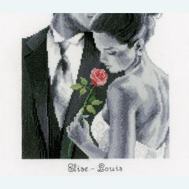 Rose of Love - kruissteekpakket met telpatroon Vervaco |  | Artikelnummer: vvc-150602