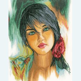 Feelings - borduurpakket met telpatroon Lanarte |  | Artikelnummer: ln-164075