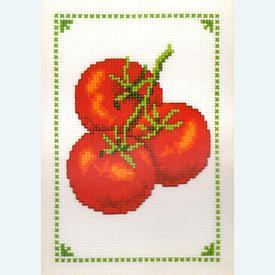 Tomatoes - borduurpakket met telpatroon Vervaco |  | Artikelnummer: vvc-70883