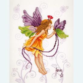 Butterfly Fairy - handwerkpakket met telpatroon Vervaco |  | Artikelnummer: vvc-70204