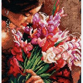 Summer Fragrance - borduurpakket met telpatroon Dimensions |  | Artikelnummer: dim-70-35315