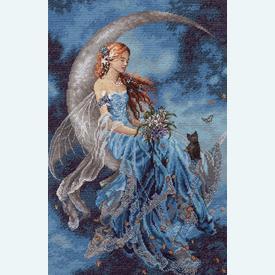 Wind Moon Fairy - borduurpakket met telpatroon Dimensions |  | Artikelnummer: dim-70-35393