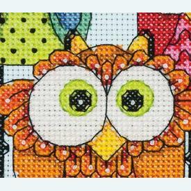 Owl Trio - borduurpakket met telpatroon Dimensions |  | Artikelnummer: dim-70-65159