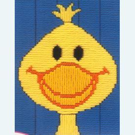 Peeper - Vervaco borduurpakket in platsteek, voor kinderen |  | Artikelnummer: vvc-1221