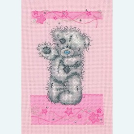 Stars - Me to You - Tatty Teddy borduurpakket met telpatroon - Coats Crafts |  | Artikelnummer: cts-tt208