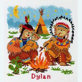 Dylan - borduurpakket met telpatroon Vervaco |  | Artikelnummer: vvc-70845