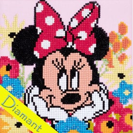 Minnie Mouse Daydreaming - Disney - Diamond Painting pakket - Vervaco |  | Artikelnummer: vvc-175275