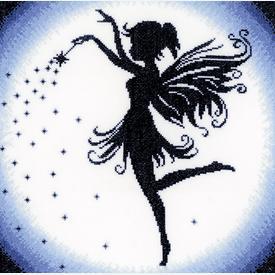 Enchanting Fairy - handwerkpakket met telpatroon Lanarte |  | Artikelnummer: ln-164076