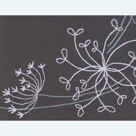 White Flowers theenap - voorgedrukt borduurpakket van Vervaco |  | Artikelnummer: vvc-164728