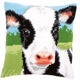 Cow - Vervaco Kruissteekkussen |  | Artikelnummer: vvc-157738