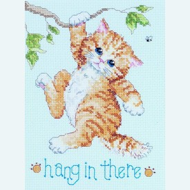 Hang in There - borduurpakket met telpatroon Janlynn |  | Artikelnummer: jl-023.0255