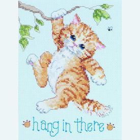 Hang in There - borduurpakket met telpatroon Janlynn |  | Artikelnummer: jl-023.0255