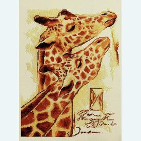 Couple by Joadoor - borduurpakket met telpatroon Vervaco - aida |  | Artikelnummer: vvc-75101