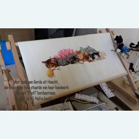 Staander voor borduurraam - profi |  | Artikelnummer: nra-25401
