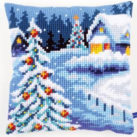 Winter Scenery - Vervaco Kruissteekkussen |  | Artikelnummer: vvc-154633