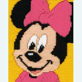 Minnie Mouse - Vervaco borduurpakket in platsteek, voor kinderen |  | Artikelnummer: vvc-14507