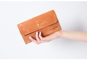 Wallet No 4-1 Camel