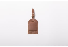 Luggage tag Camel-Brown