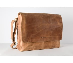 Messenger Bag No 2-1 (M) | Camel | Artikelnummer: HR-SA-2-1