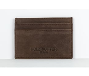 Creditcard Holder No 3-1 | Dark-brown | Artikelnummer: HR-WAL-3-1_db