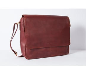 Messenger Bag No 2-1 (M) | Maroon-Brown | Artikelnummer: HR-SA-2-1_rb