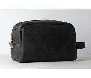 Washbag No 3-1 (L) | Anthracite-Black | Artikelnummer: HR-WB-3-1_b