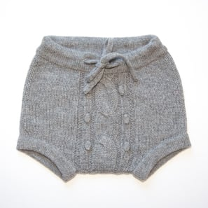 Baby Bloomer PEPPI | 100% Cashmere, Colour: Dark Grey Mélange | Code: BP06018184XXX