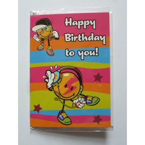 Happy Birthday to you!, Briefkarte | Geburtstagskarten | Artikelnummer: LA4211V