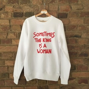 SWEATER | SOMETIMES THE KING IS A WOMAN | Artikelnummer: SW10d