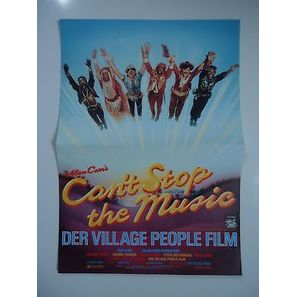 Kleinplakat Can´t stop the Music Village People ca. 30 x 42 cm (K2) |  | Artikelnummer: 162707812763