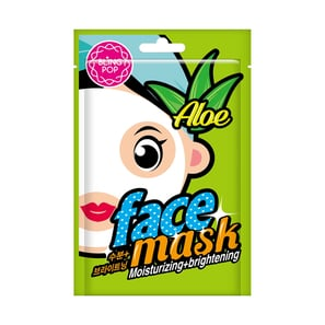 Bling Pop - Aloe Moisturizing & Brightening Mask | Korea Cosmetics | Artikelnummer: 007385