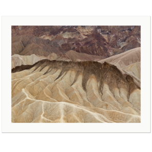 Folds | Zabriskie Point, Death Valley National Park, California, 2013 | Edition Print 24   unlimitiert | Bildnummer: IQ180_131029_064-24