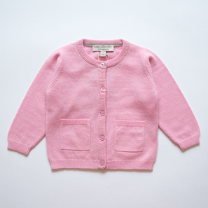 Cardigan with Star | 100% Cashmere, Colour: Light Rose | Code: 0715BC010131XXX