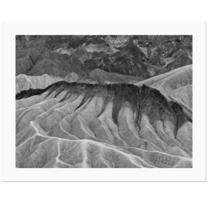 Folds | Zabriskie Point, Death Valley National Park, California, 2013 | Edition Print 24   unlimitiert | Bildnummer: IQ180_131029_064bw-24