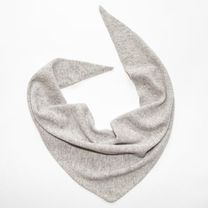 "Triangle Scarf Ajour ""Reva"" 