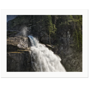 Lower Krimml Waterfall | Krimml, Austria, 2009 | Edition Print 24   unlimitiert | Bildnummer: LA22_005866-24
