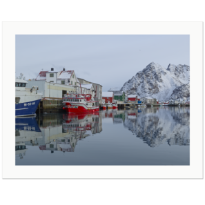 Henningsvær Harbour | Lofoten Islands, Norway, 2013 | Edition Print 24   unlimitiert | Bildnummer: IQ180_130311_016-24