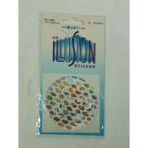 Tiger, 3-D Sticker Illusion | Magic Sticker | Artikelnummer: LA161L
