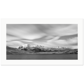 Laguna Azul and Torres del Paine | Patagonia, Chile, 2019 | Edition Print 32  unlimitiert | Bildnummer: X1d_190126_032bwp-32
