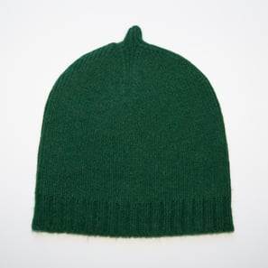Basic Plain Hat | 100% Cashmere, Colour: Spruce | Code: 0716AH050162XXX