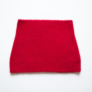 Basic Plain Loop Scarf | 100% Cashmere, Colour: Bordeaux | Code: 0716AS050135XXX