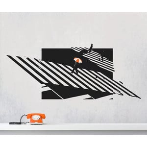 URBAN JUNGLE Wall Art Wandsticker Zebra Crossing  |  | Artikelnummer: 58689083