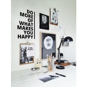 Wandtattoo DO MORE OF WHAT MAKES YOU HAPPY Typo II  |  | Artikelnummer: 55800407